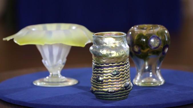 Tiffany Studios Vases Crate Antiques Roadshow Pbs