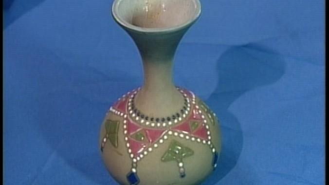 Mccoy Porcelain Vase Ca 1920 Antiques Roadshow Pbs