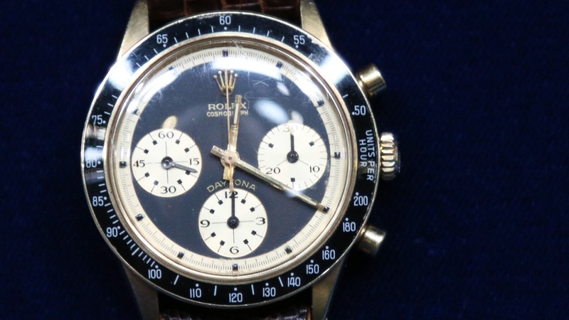 Daytona Model Rolex Watch with Box & Papers, ca. 1970 ...