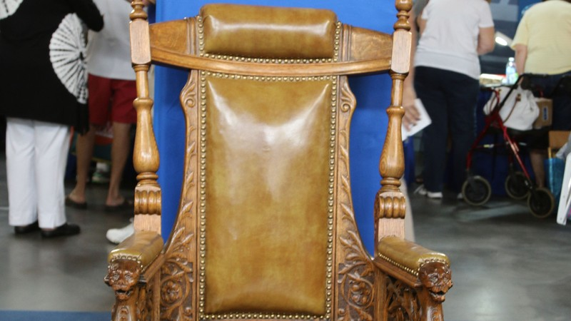 1 of 1 - Omaha Mayor's Renaissance Revival Chair, Ca. 1880 Antiques