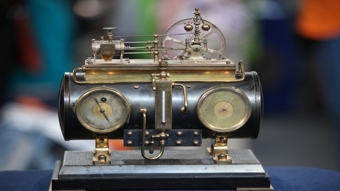 French Industrial Steam Boiler Clock, ca. 1885   Antiques Roadshow   PBS