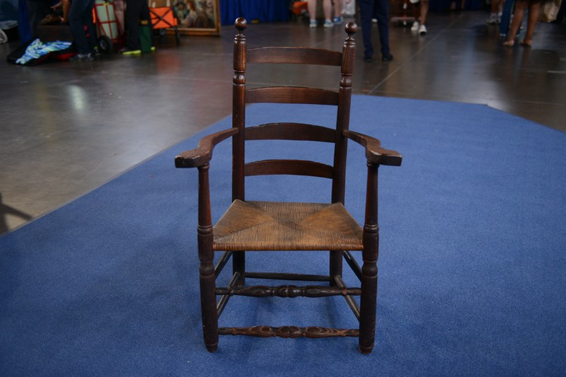 Southern Turned Great Chair Ca 1730 Antiques Roadshow