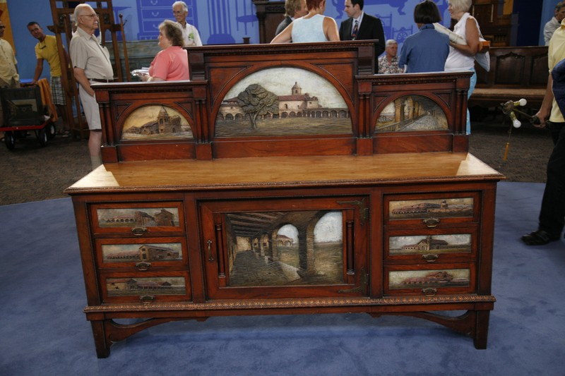 Spanish colonial sideboard ca antiques roadshow pbs