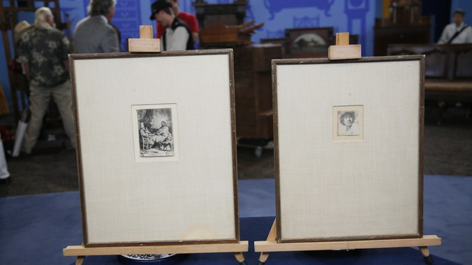 Two Rembrandt Etchings Ca 1630 Antiques Roadshow Pbs