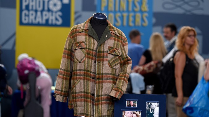 Carroll O Connor S Archie Bunker Coat Ca 1970 Antiques
