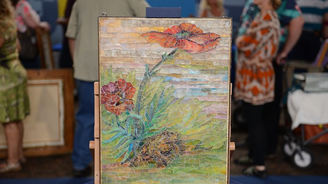 Tiffany Studios Mosaic Panel, ca. 1905 | Antiques Roadshow ...