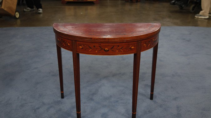 Hepplewhite Inlaid Games Table, Ca. 1810 | Antiques Roadshow | PBS
