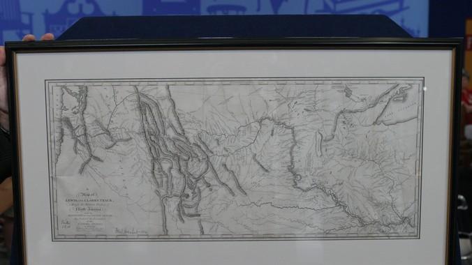 1814 Meriwether Lewis William Clark Map