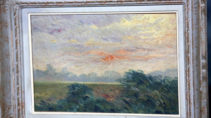 Eug 232 Ne Murer Oil Painting Ca 1880 Antiques Roadshow Pbs