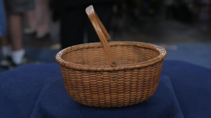 Oliver Coffin Nantucket Basket, ca.1870 | Antiques ...