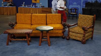 Molesworth Furniture & Lamp ca 1933