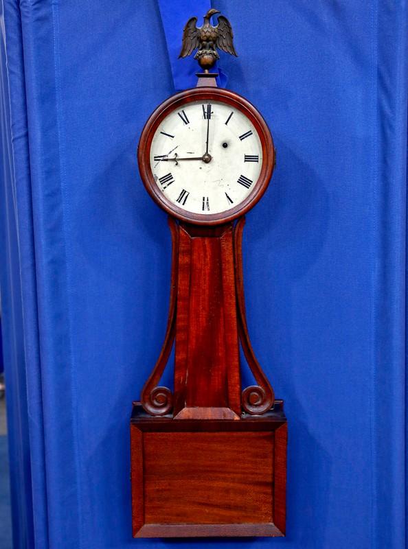 Horace Tifft Banjo Clock Ca 1840 Antiques Roadshow Pbs