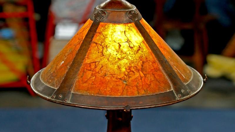 Dirk van erp lamp ca 1911