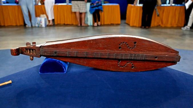Appalachian Dulcimer Ca 1880 Antiques Roadshow Pbs