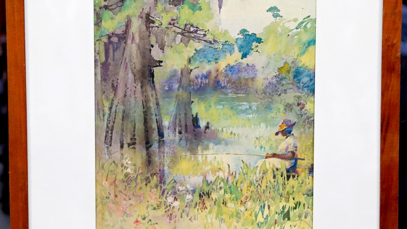 Whats It Worth >> Early 20th-Century Alice Ravenel Huger Smith Watercolor ...