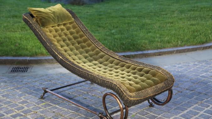 Comfort Furniture Co Chaise Longue Ca 1900 Antiques