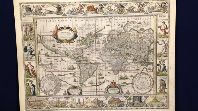 Blaeu World Map.Willem Blaeu World Map Ca 1640 Antiques Roadshow Pbs