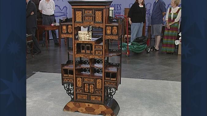 Read Appraisal Transcript - Japanese Display Cabinet, Ca. 1870 Antiques Roadshow PBS