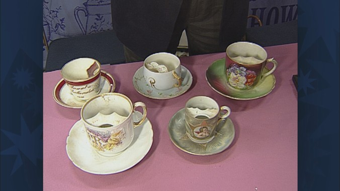 Mustache Cup Collection, ca  1900 | Antiques Roadshow | PBS