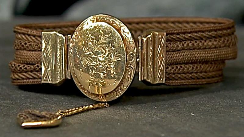 American hair jewelry ca 1850 antiques roadshow pbs for Jewelry appraisal omaha ne