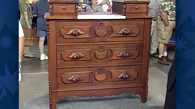 Phoenix Furniture Co. Dresser - Phoenix Furniture Co. Dresser Antiques Roadshow PBS