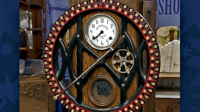 Dey Time Recorder Antiques Roadshow Pbs
