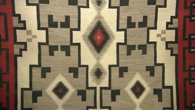 Ganado Style Navajo Rug Ca 1930 Antiques Roadshow Pbs