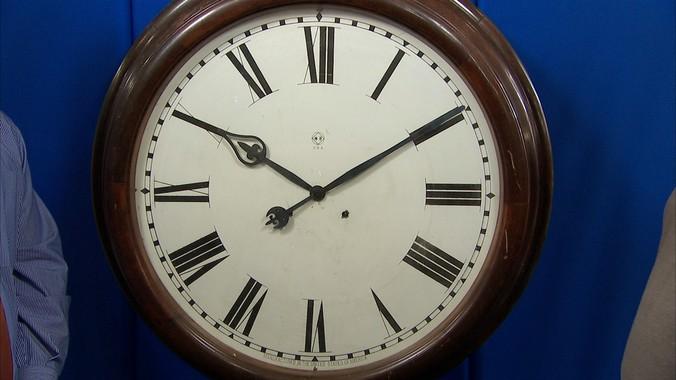 Seth Thomas Gallery Clock Ca 1910 Antiques Roadshow Pbs