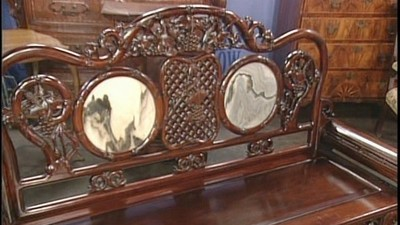 Chinese Settee, ca. 1890 - Appraisals Antiques Roadshow PBS