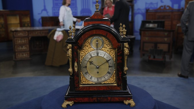 t  boxell english bracket clock  ca  1870