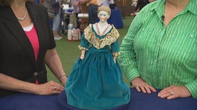 German Parian Doll Head a89c9372bb1