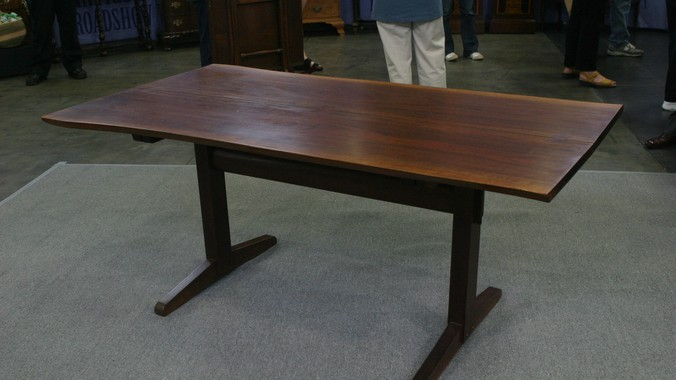 Nakashima Table george nakashima dining table, ca. 1953 | antiques roadshow | pbs