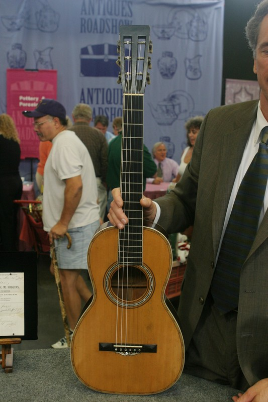 C F  Martin Parlor Guitar, ca  1860   Antiques Roadshow   PBS
