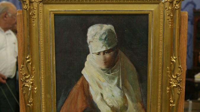 Hovsep Pushman Painting, ca  1925   Antiques Roadshow   PBS