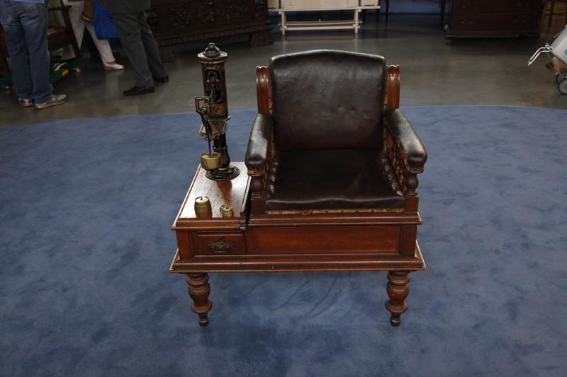 Edwardian jockey chair ca 1895 antiques roadshow pbs - Vintage antiques roadshow ...