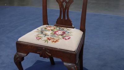 Philadelphia Chippendale Walnut Chair, ca. 1775 - Appraisals Antiques Roadshow PBS