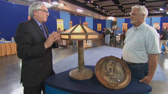 1919 American Trench Art Lamp Antiques Roadshow Pbs