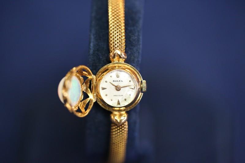 Rolex Opal Bracelet-watch, ca. 1950 | Antiques Roadshow | PBS