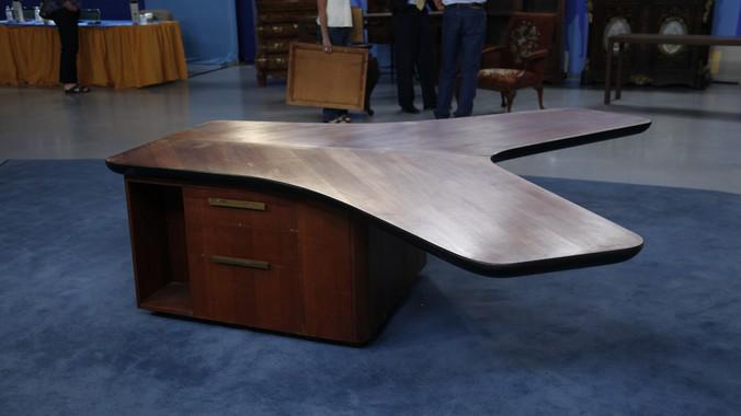 L Shaped Wood Desk