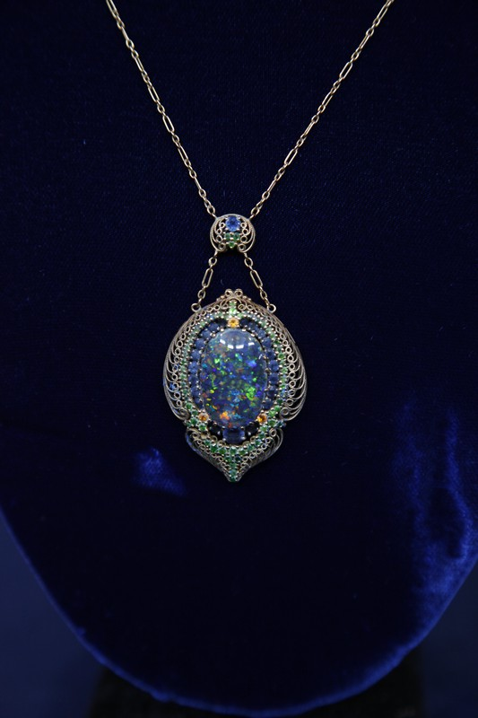 Ford Ford Auction >> Louis Comfort Tiffany Necklace, ca. 1905 | Antiques ...