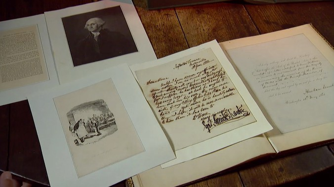 Field Trip Extra Illustrated Biography Of Charles Dickens Antiques Roadshow Pbs