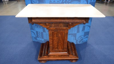 Classical Boston Mixing Table, ca. 1820 - Appraisals Antiques Roadshow PBS