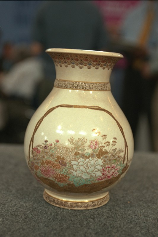 Meiji Period Satsuma Vase Antiques Roadshow Pbs