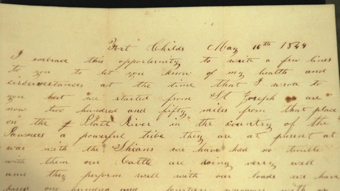 1849 Gold Rush Letter | Antiques Roadshow | PBS