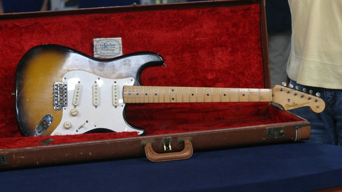 1957 Fender Stratocaster Guitar | Antiques Roadshow | PBS