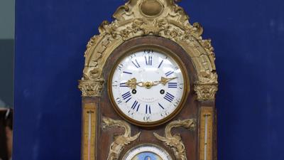 Le Roy U0026 Fils Wall Clock, Ca. 1870