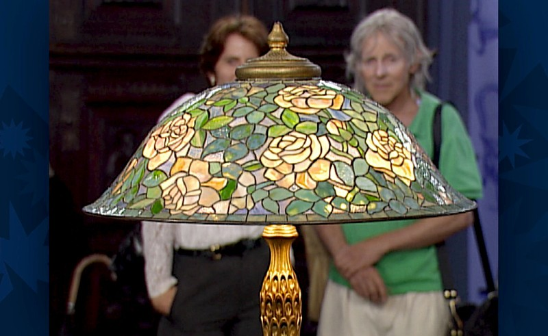 Tiffany Studios Rose Helmet Lamp, Ca. 1905 | Antiques Roadshow | PBS