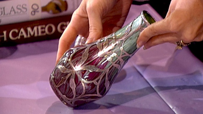 Loetz Titania Glass Vase Antiques Roadshow Pbs