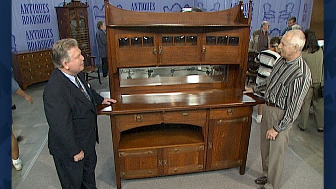 Read Appraisal Transcript - Arts & Crafts Sideboard Antiques Roadshow PBS
