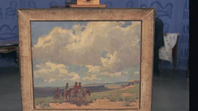 Edgar Alwin Payne Painting, ca. 1925 | Antiques Roadshow | PBS